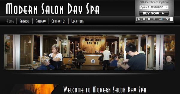Modern Salon Day Spa